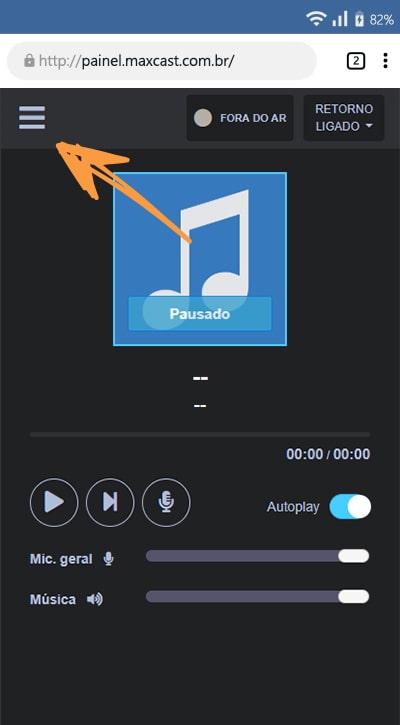 Como adicionar música a playlist do studio online celular