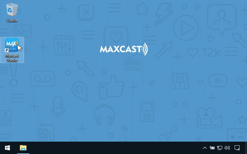 transmitir web radio ao vivo maxcast studio
