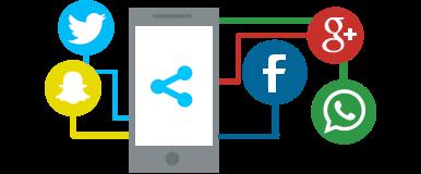 Integração com redes sociais
