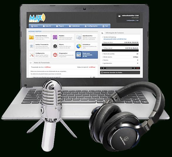 Como criar uma Web Rádio
